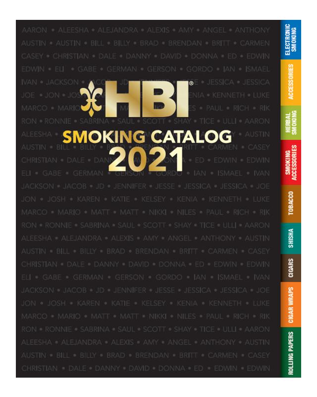 HBI 2021 Smoking Catalog